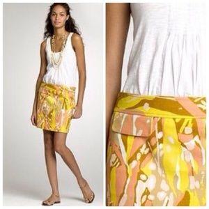 NWOT J. Crew Limoncello Skirt Size 8